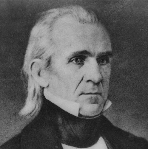An analysis of young hickory and dark horse by james polk