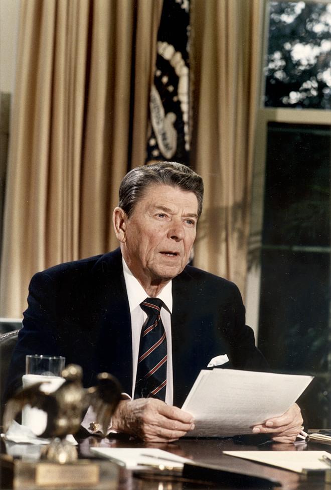 President ronald reagan essay