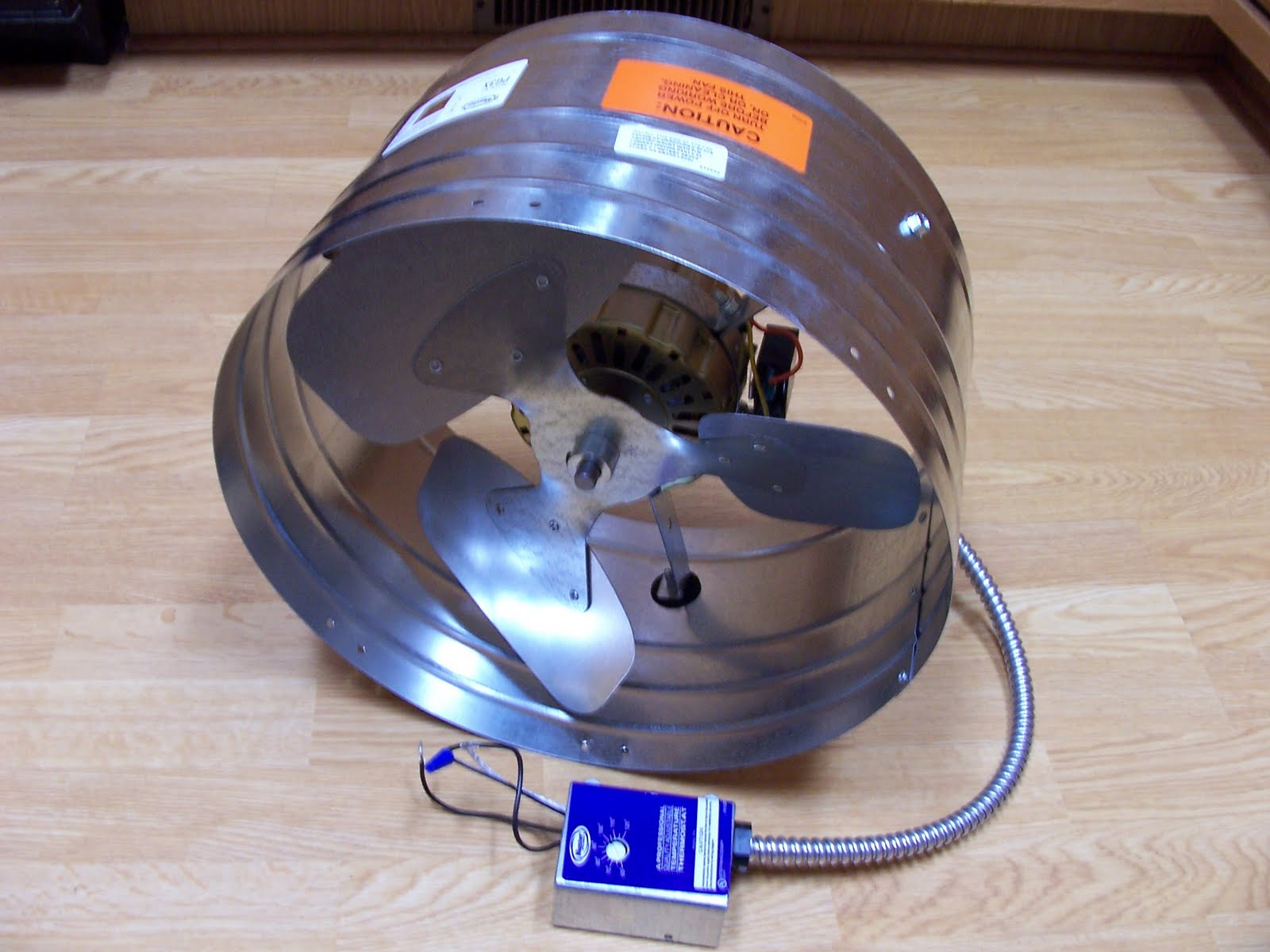 Another Item I Bought Today Was The Main Circulation Fan Purchased A Master Flow Best Pro 3 Attic Ventilator For 93 00 From Home Depot