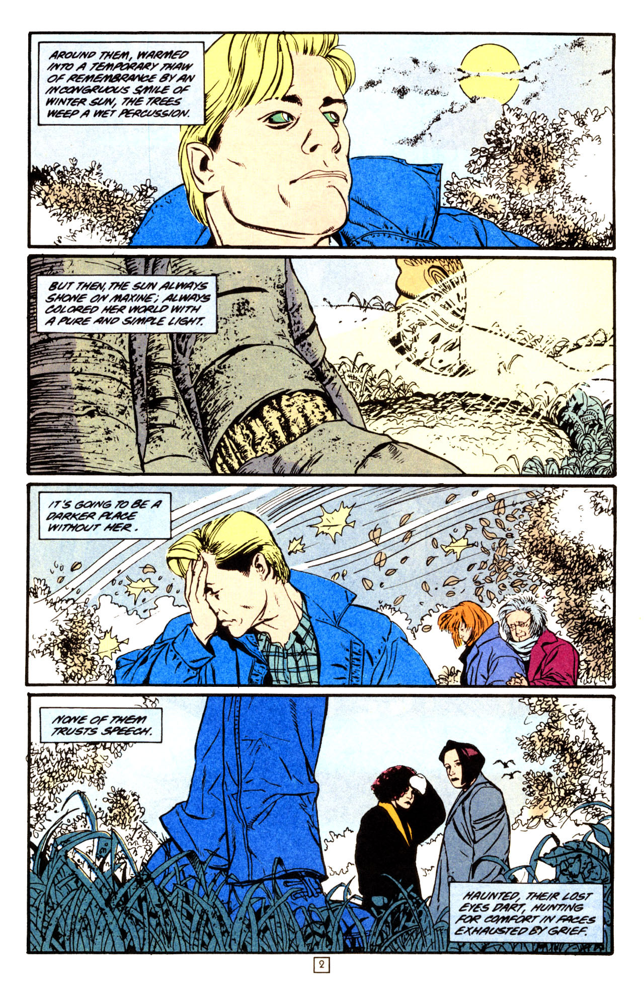Read online Animal Man (1988) comic -  Issue #70 - 3