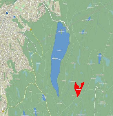 lutvann kart Ville vann i Østmarka: Kroktjern | KUNSTEN Å GÅ lutvann kart