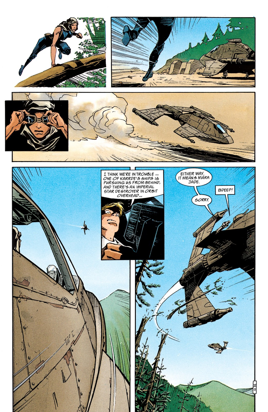 Read online Star Wars Legends: The New Republic - Epic Collection comic -  Issue # TPB 4 (Part 1) - 97