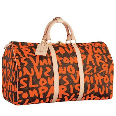 926a4f432fb Louis Vuitton Graffiti Keepall