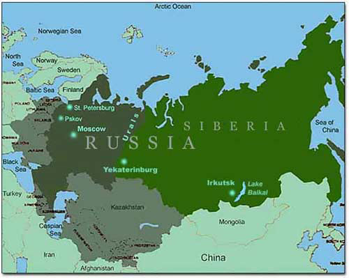 West The Russian 11