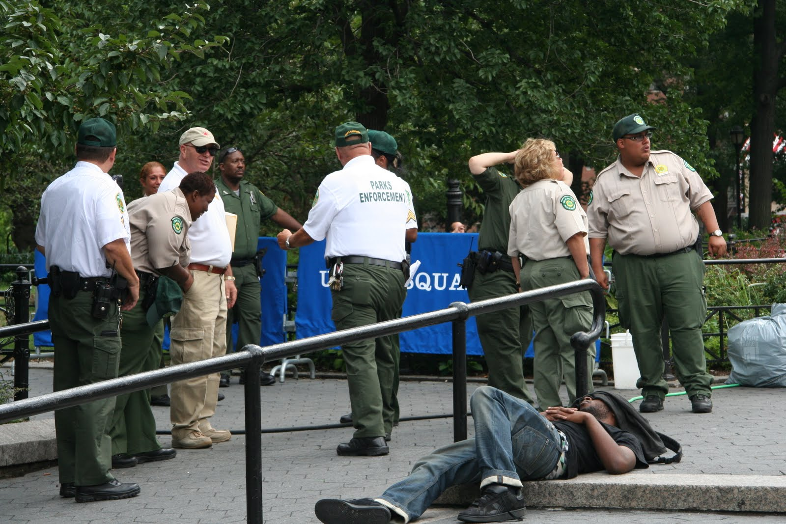 A Walk in the Park: State Issues Temporary Restraining Order