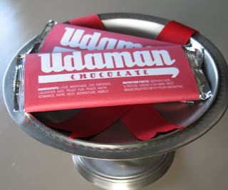 """Udaman"" Chocolate Wrappers 