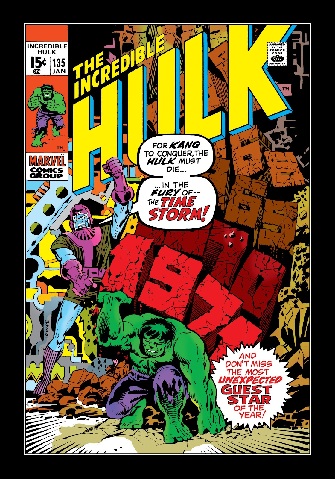 Read online Marvel Masterworks: The Incredible Hulk comic -  Issue # TPB 7 (Part 1) - 7
