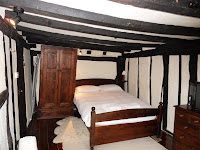16th century cottage bedroom