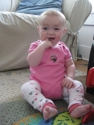 baby darah in pink BabyLegs