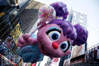 Abby Cadabby Macy's balloon