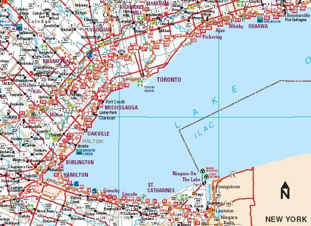 hamilton area postal code map