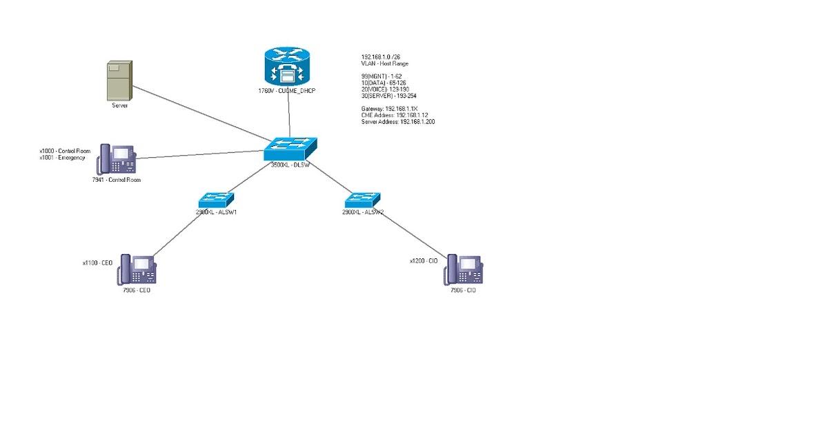 voice network diagram
