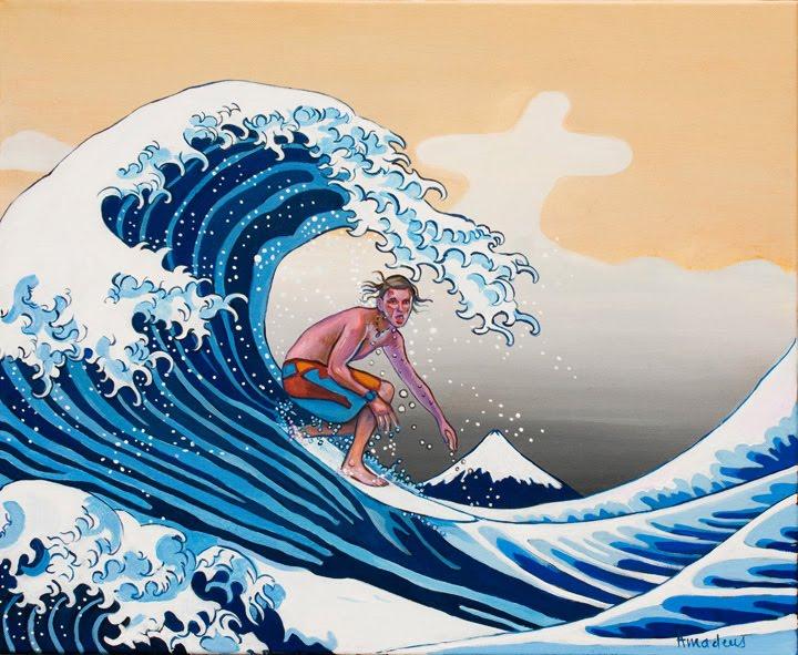 art japanese waves