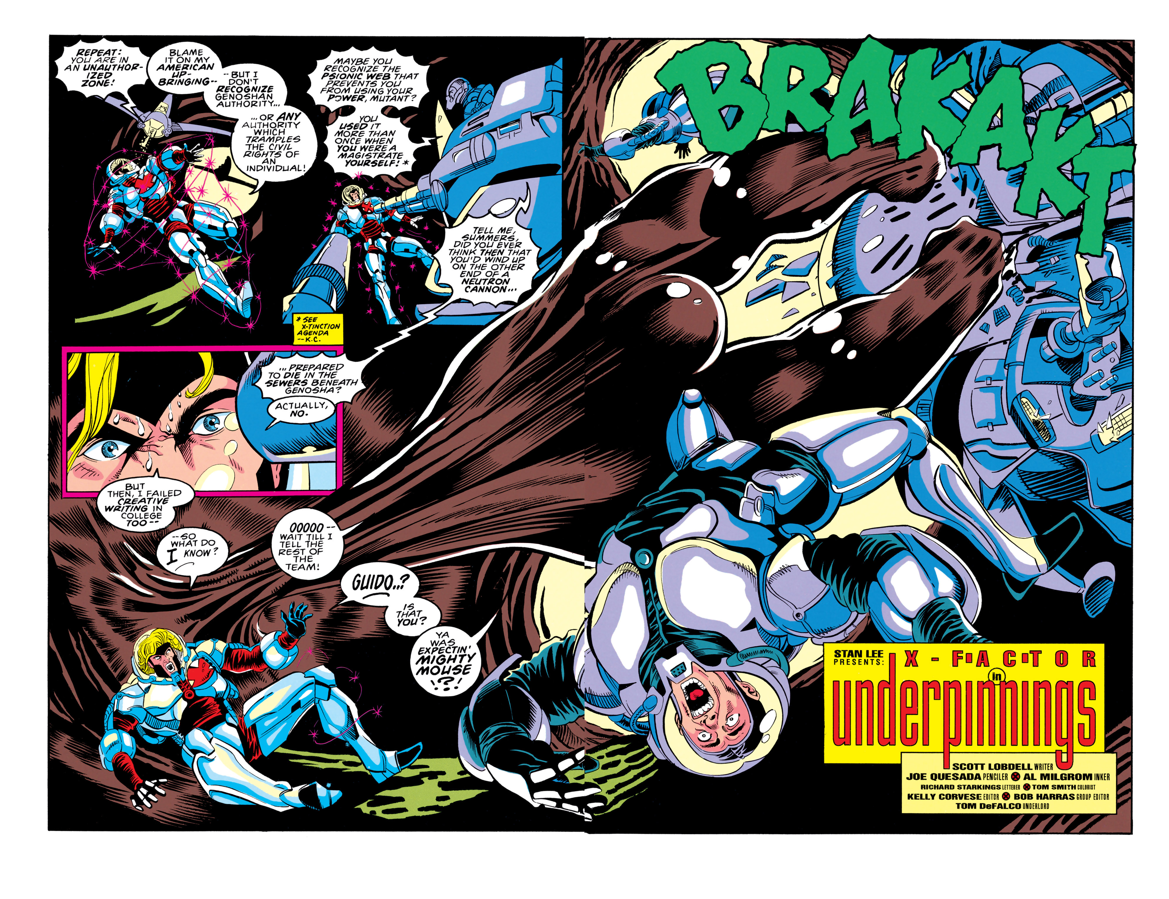 Read online X-Factor (1986) comic -  Issue #91 - 3