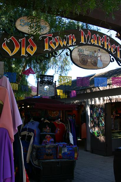 The Wanderers: Colorful Shops of Old Town