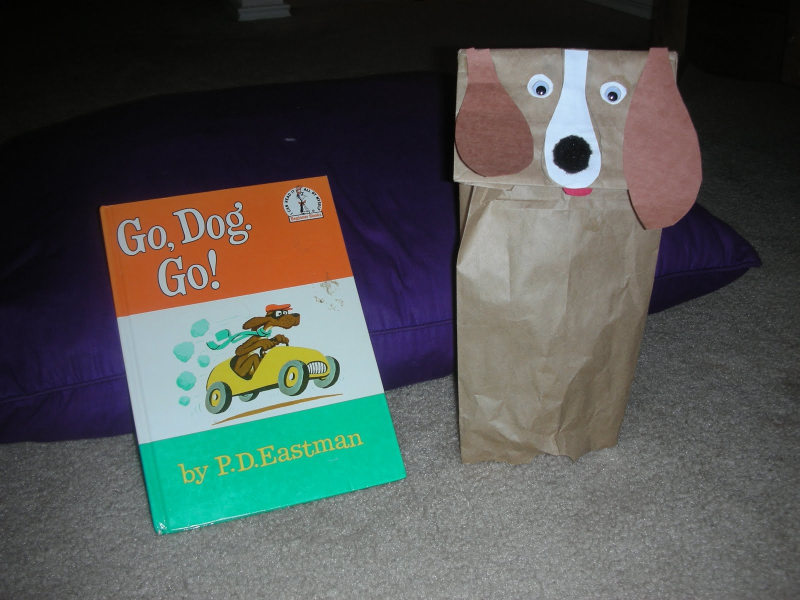 Growing Memories And Minds Book Theme Go Dog Go By Pd