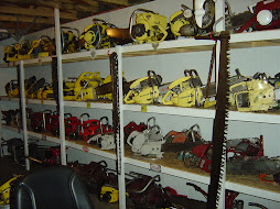 VINTAGE CHAINSAW COLLECTION: PERSONAL CHAINSAW LIST