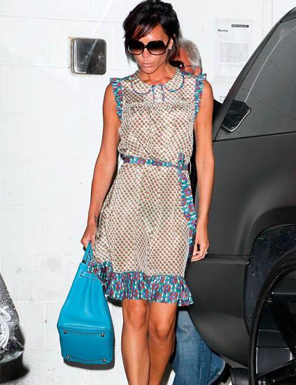 vestido Victoria Beckham