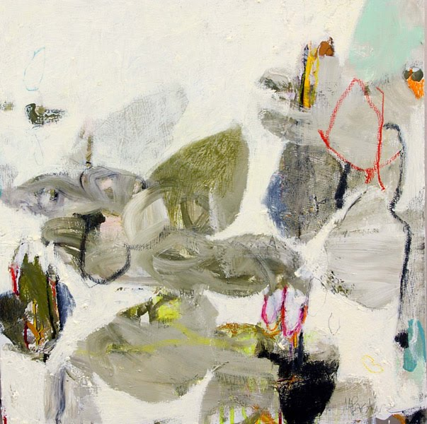 Beautiful abstract painting by Meredith Pardue