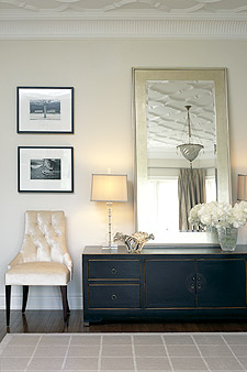 Classic decor in a bedroom by Sarah Richardson