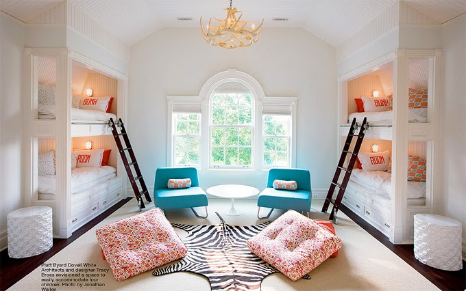 Gorgeous Bunk Room