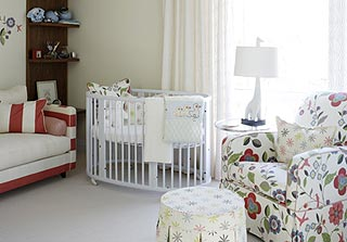Cheerful nursery designed by Sarah Richardson