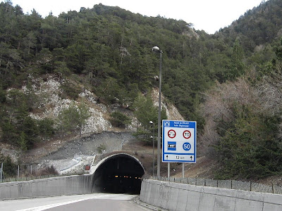 tunnel de frejus km