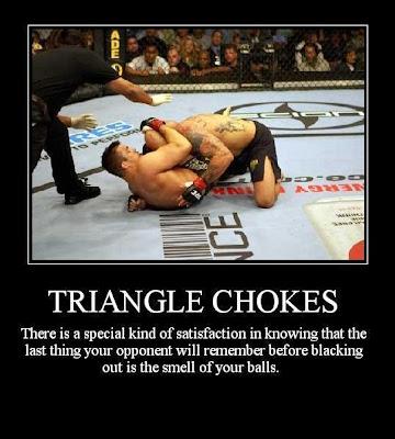 Motivational Posters Triangle Chokes