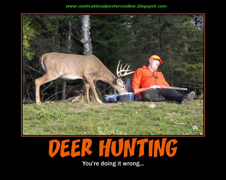 Deer Hunter Hunting Posters