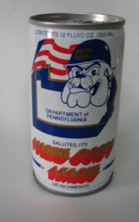 Dog Pound Museum Marine Corps League Devil Dog Beer Can