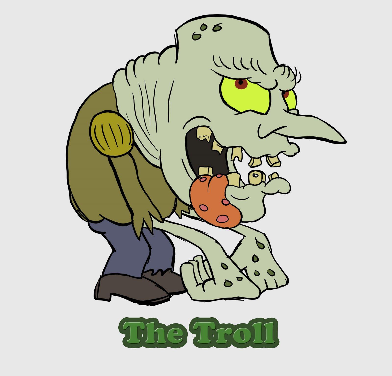 3 Billy Goats Gruff Troll P Lp