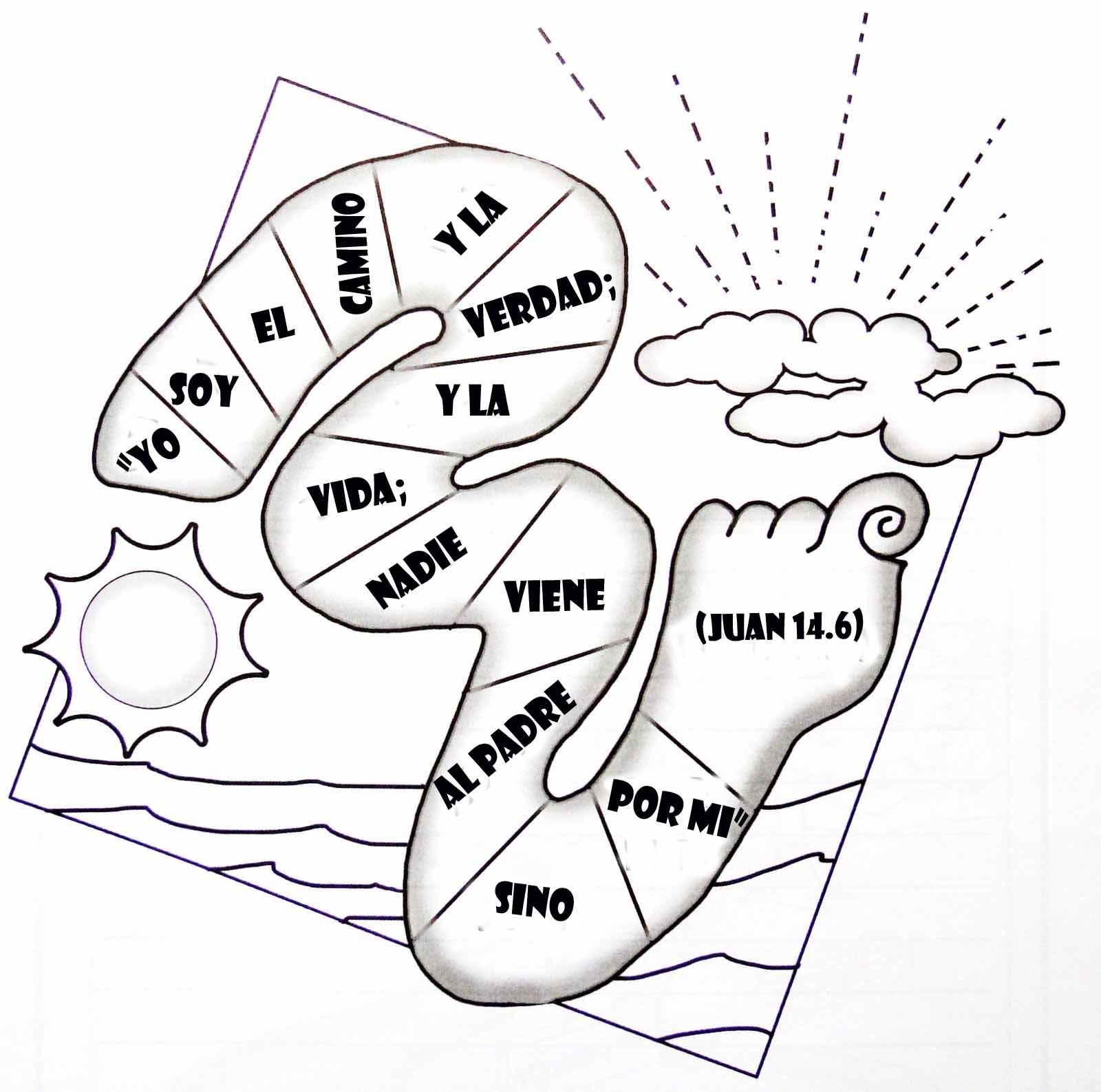 Actividades Unidad I – Los dos caminos ~ Escuelita Biblica ...