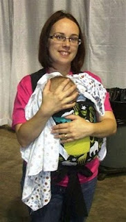 Breastfeeding While Babywearing