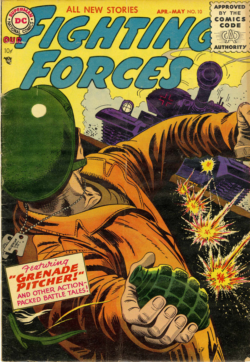 Our Fighting Forces (1954) issue 10 - Page 1