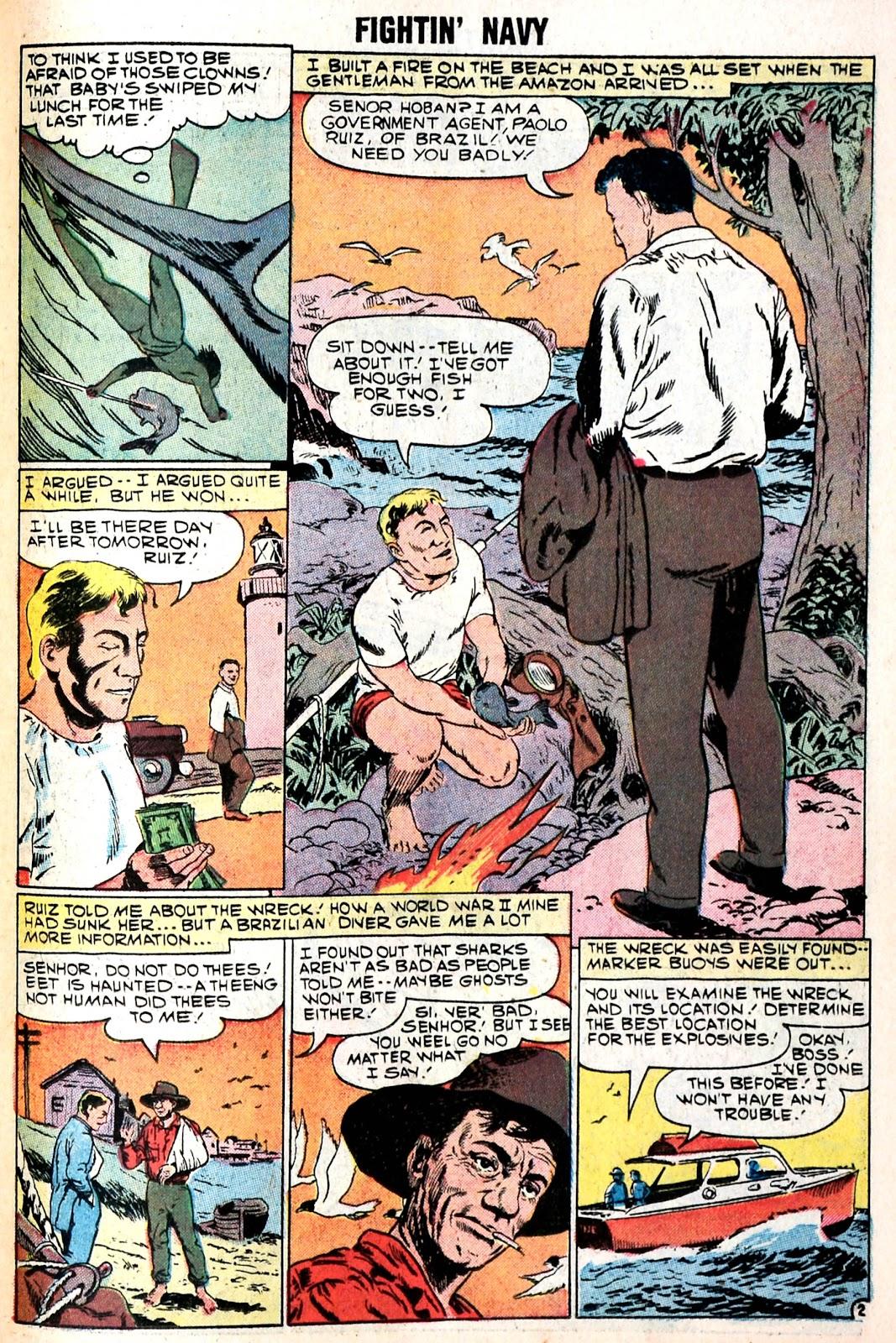 Read online Fightin' Navy comic -  Issue #85 - 23