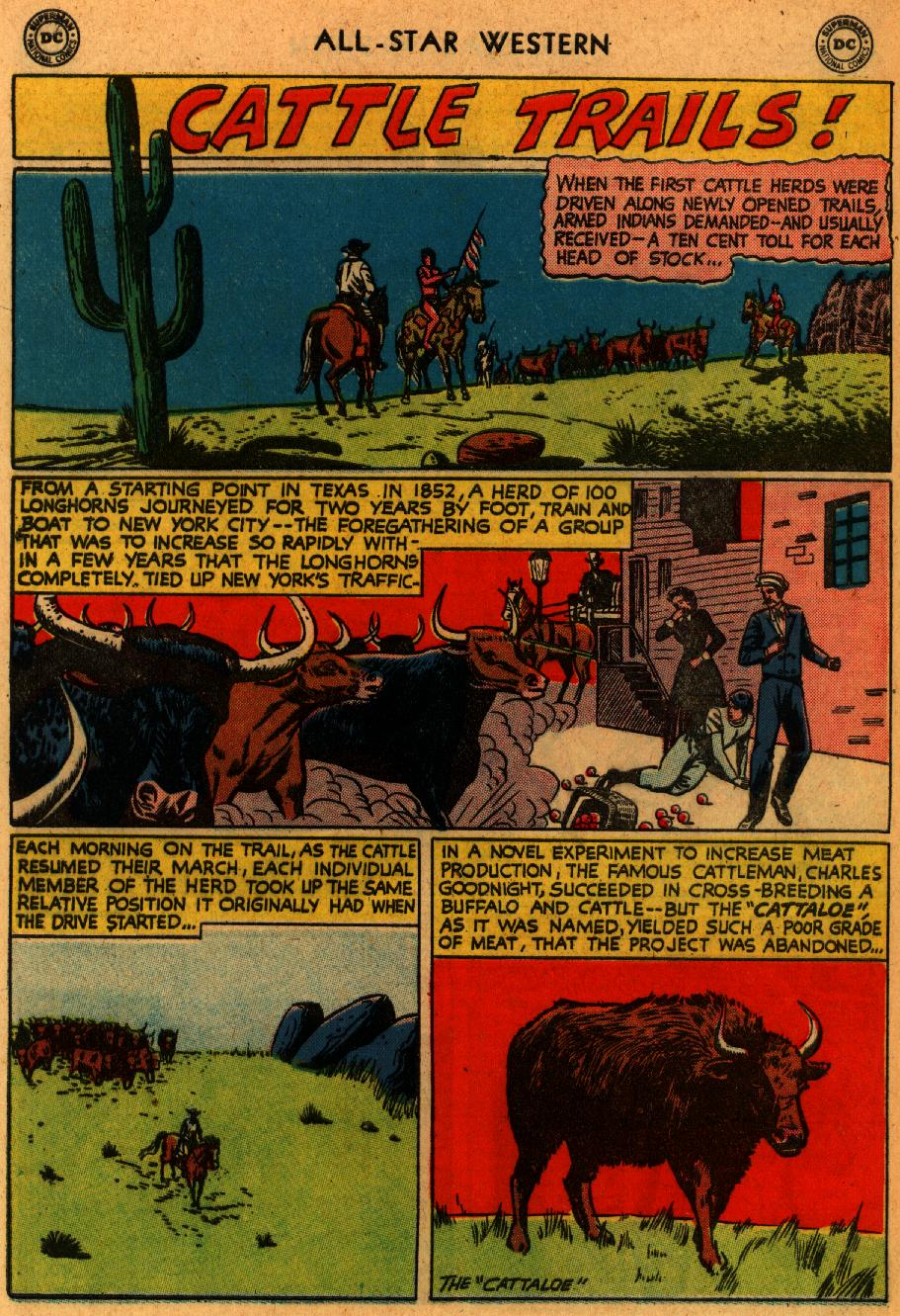 Read online All-Star Western (1951) comic -  Issue #102 - 32