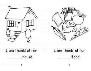 Homeschool Parent: Thanksgiving Emergent Reader