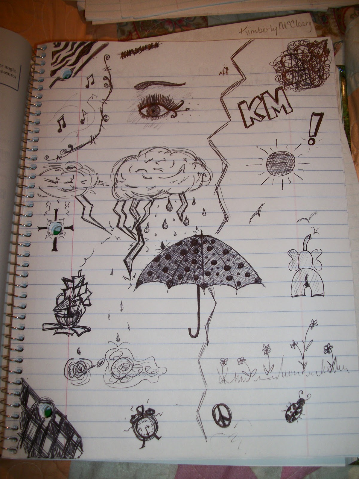 Easy Doodles To Do In Class