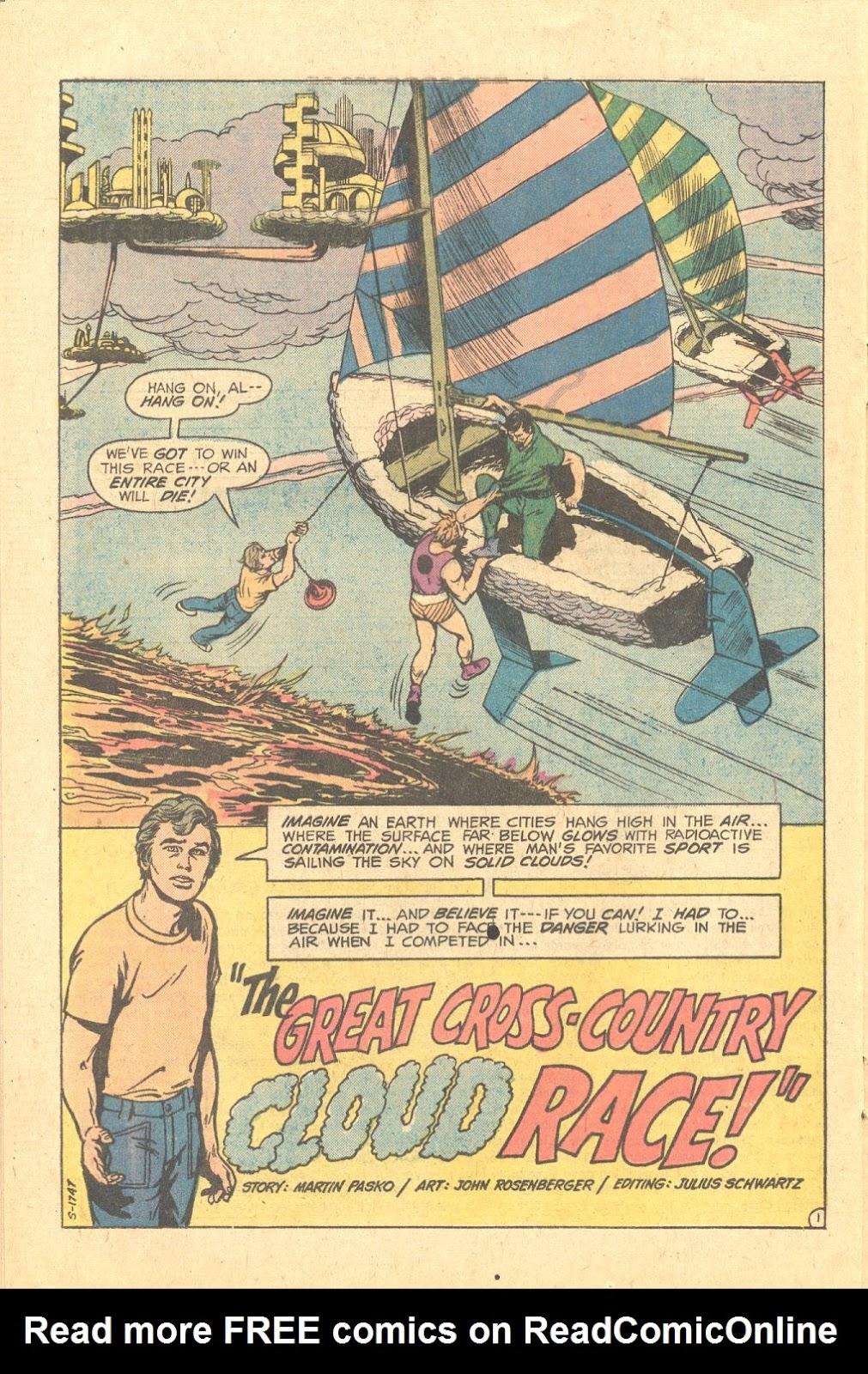 Read online Strange Sports Stories (1973) comic -  Issue #6 - 13