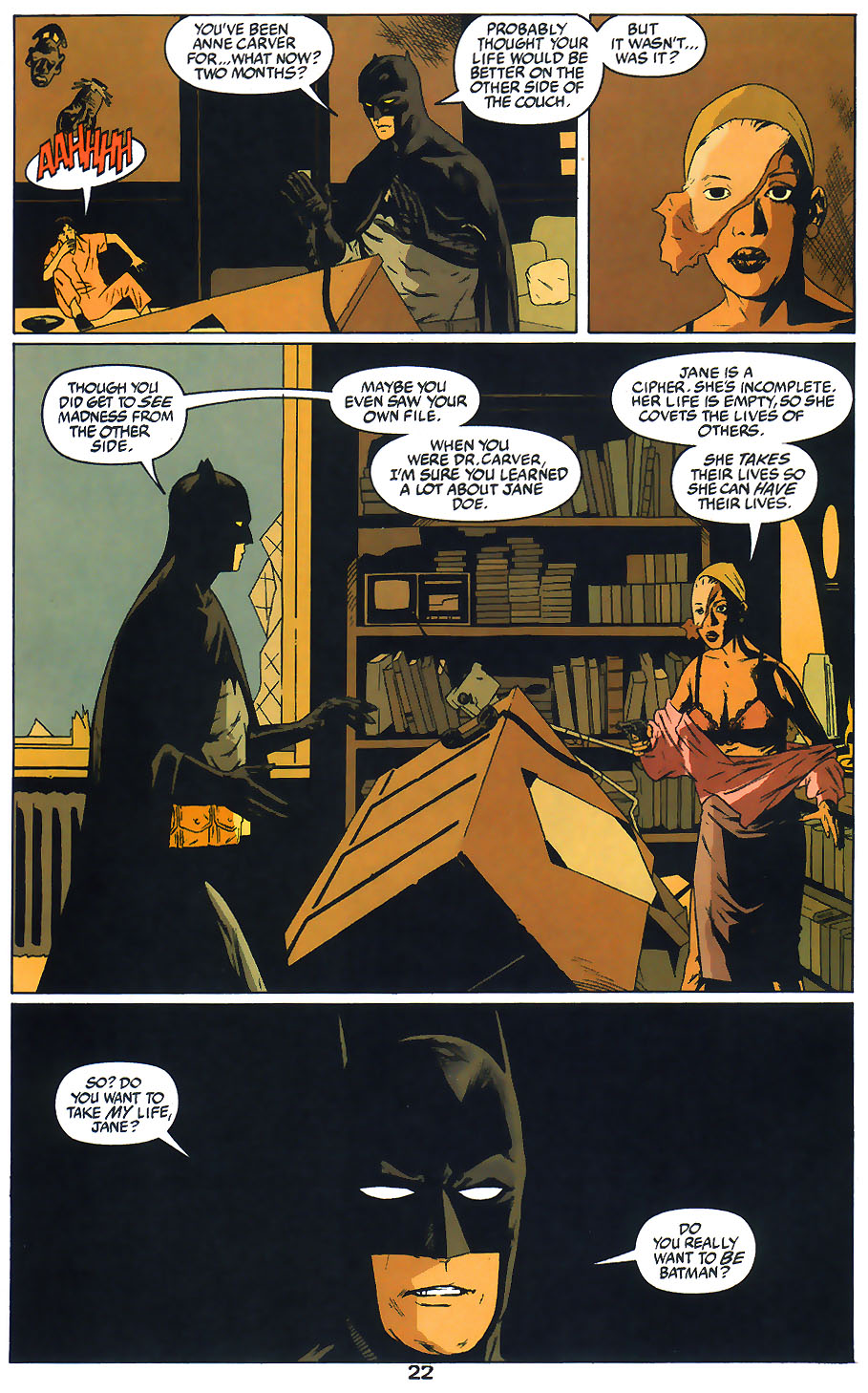 Read online Arkham Asylum: Living Hell comic -  Issue #1 - 24