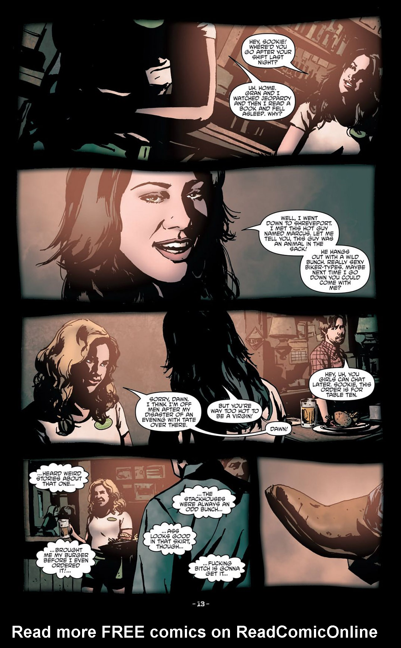 Read online True Blood (2012) comic -  Issue #1 - 16