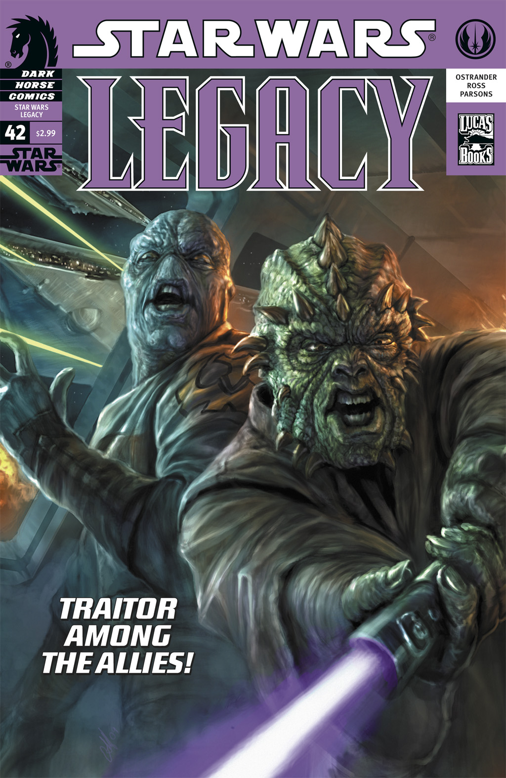 Star Wars: Legacy (2006) issue 42 - Page 1
