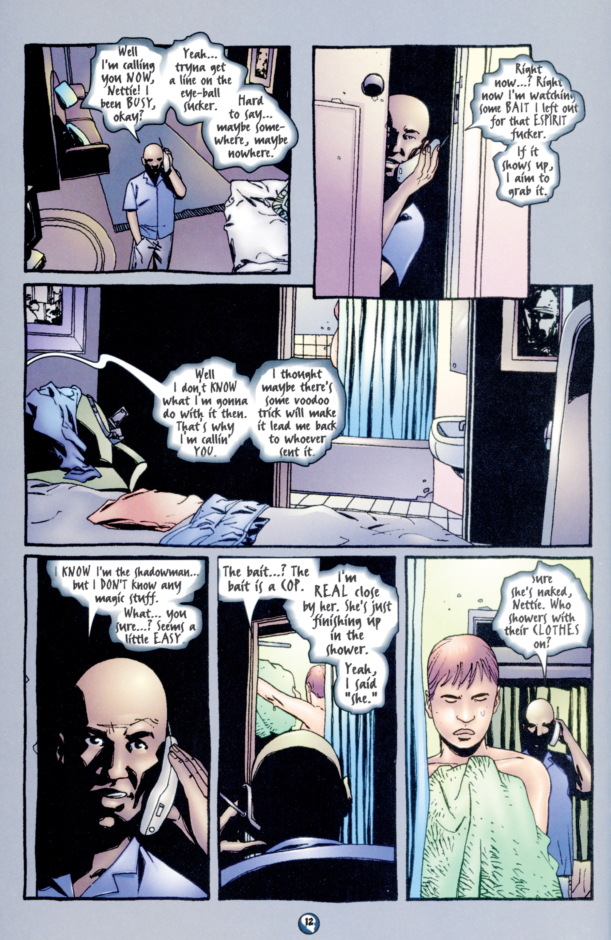 Read online Shadowman (1997) comic -  Issue #10 - 10