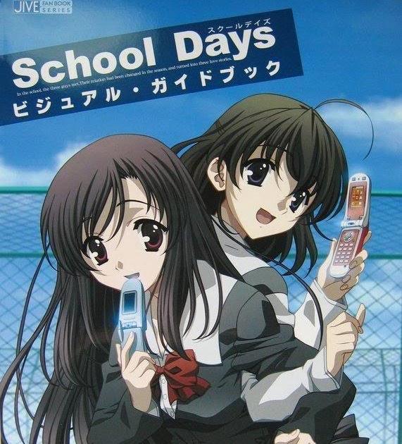 ANIMES: School Days El Juego Completo (Overflow) Download