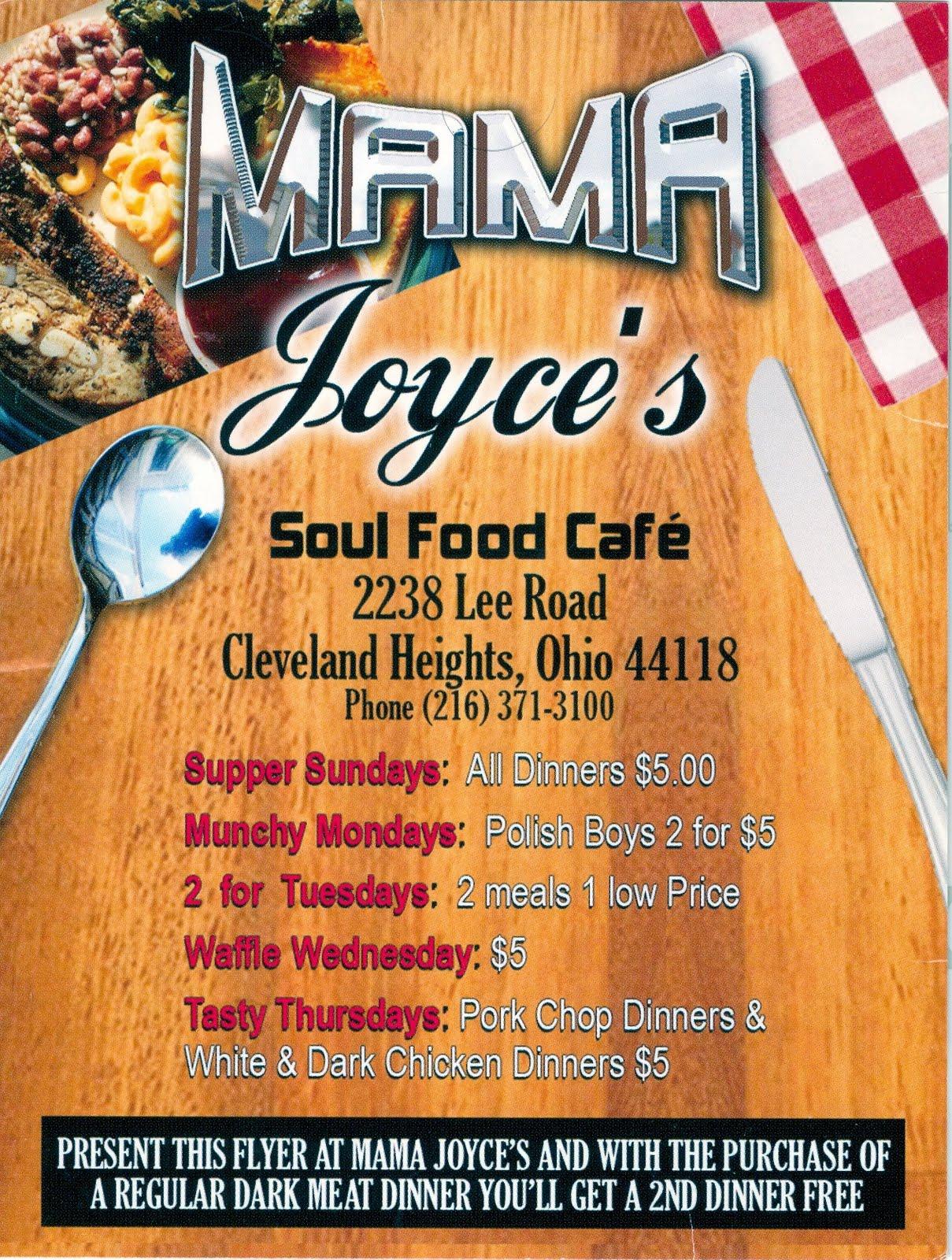 Joyce S Soul Food Restaurant