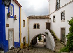 Obidos the white walled town