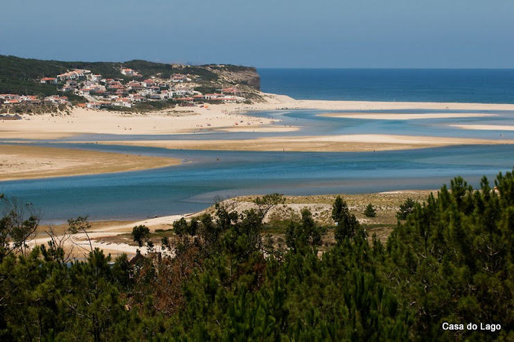 Lagoon, viewed from Foz do Arelho