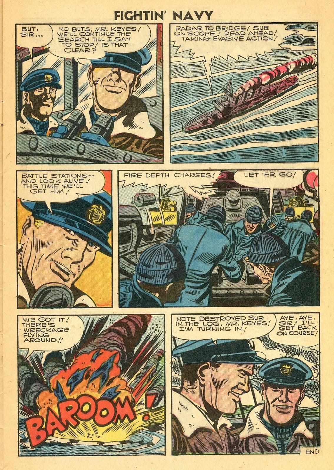 Read online Fightin' Navy comic -  Issue #77 - 9