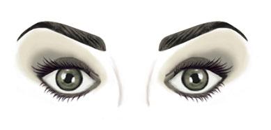 Formas de ojos y c mo maquillarlos maquillaje tips - Maneras de pintar los ojos ...