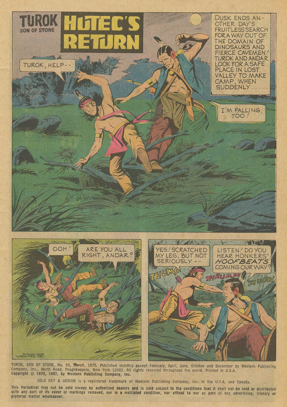 Read online Turok, Son of Stone comic -  Issue #95 - 3